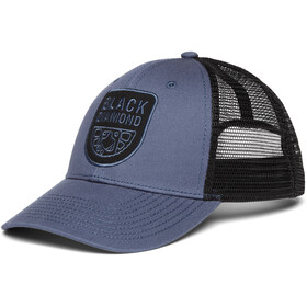 Black Diamond Low Profile Trucker Hat, ink blue-black